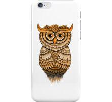 'Vintage Owlbert' iPhone Case/Skin