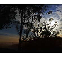 Distant City at Dawn Photographic Print