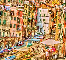 The Boys Of Riomaggiore by HOl Guinism