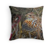 partridge not in a pear tree Throw Pillow