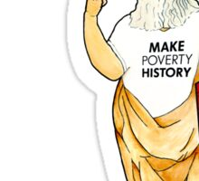 Make Poverty History Sticker