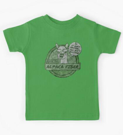 Spittin Sam - Green Kids Tee