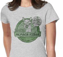 Spittin Sam - Green Womens Fitted T-Shirt
