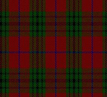 02390 Denny Hunting Clan/Family Tartan Fabric Print Iphone Case by Detnecs2013
