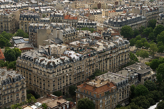 Rooftops of Paris by CreativeUrge