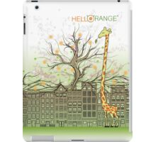 Giraffe : The City Eater iPad Case/Skin