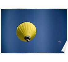 Moon Balloon Poster