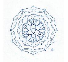 Trinity Mandala Photographic Print
