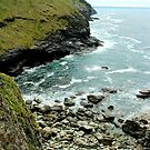 The Shore - Tintagel, Cornwall  by rsangsterkelly