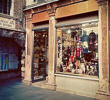 Pinoccio in Venice by GRACE COSTA