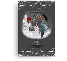❤‿❤ IT WAS JUST MY IMAGINATION (ON BENDED KNEE)❤‿❤ Canvas Print