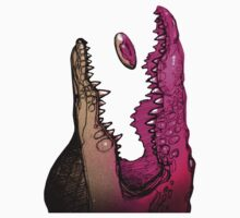 pink croc by amika