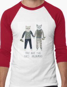 You are the Cat's Pajamas Men's Baseball ¾ T-Shirt