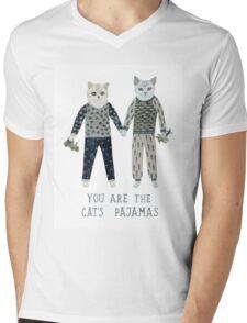 You are the Cat's Pajamas Mens V-Neck T-Shirt