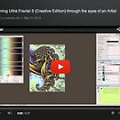 Learning Ultra Fractal (Creative Edition) Through the eyes of an Artist by zooreka