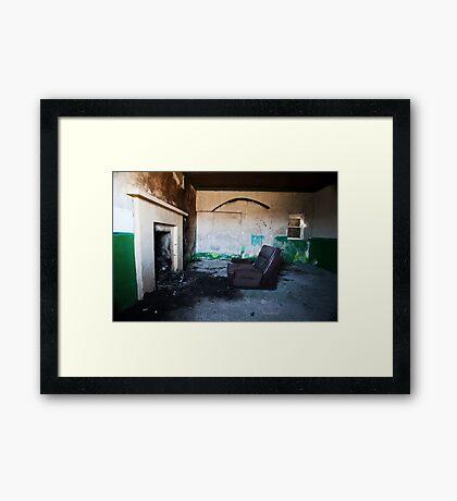 Sitting Room Framed Print