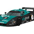 Maserati MC12 GT1 Art Print by RacingColour
