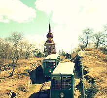 Funicular crossing by EmilFingal