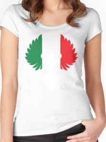 Italy Phoenix Women's Fitted Scoop T-Shirt