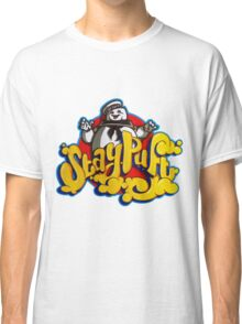 Stay Puft Marshmallow Man Logo - Graffiti Classic T-Shirt