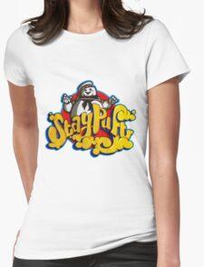 Stay Puft Marshmallow Man Logo - Graffiti Womens Fitted T-Shirt