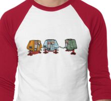 Silent Huey, Dewey and Louie Men's Baseball ¾ T-Shirt