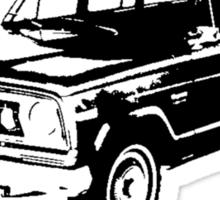 1974 Jeep Wagoneer Sticker