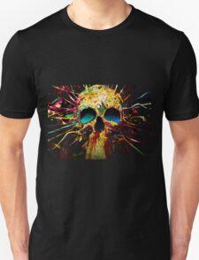 Skull colors Unisex T-Shirt