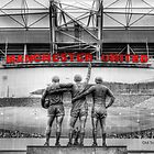 The United Trinity - Old Trafford by david gilligan
