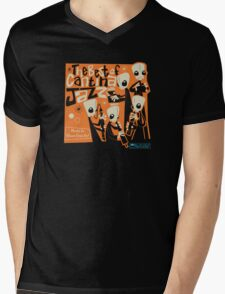 Cantina Jazz Mens V-Neck T-Shirt