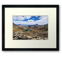 Summit of Snowdon Framed Print