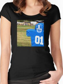 Football Dummy Women's Fitted Scoop T-Shirt