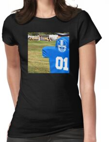 Football Dummy Womens Fitted T-Shirt