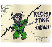 Record Stock Samurai Comique Poster