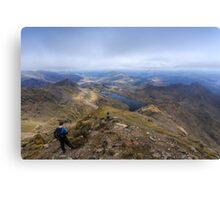 Snowdon Peak Canvas Print