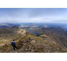 Snowdon Peak Photographic Print