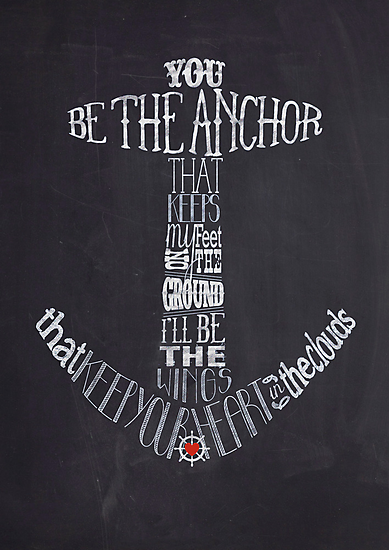 You Be The Anchor by Karli Florence