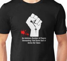 White Manifesto Red Blood Unisex T-Shirt