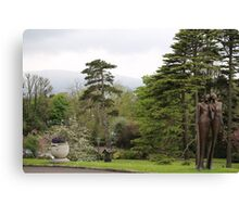 Culloden Estate Statuary in Northern Ireland Canvas Print