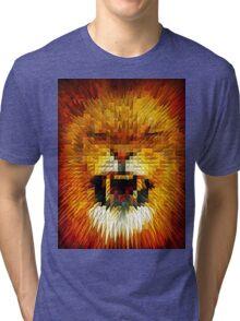 ANGRY LION Tri-blend T-Shirt