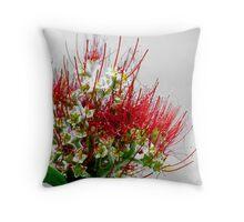 Native Bloom Throw Pillow