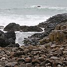 Giant's Causeway County Antrim Ireland by Ren Provo