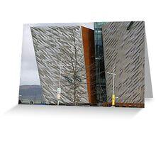 Titanic Museum - Belfast Northern Ireland Greeting Card