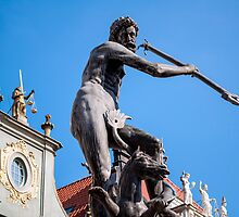 God of sea. Neptune's statue. by FER737NG