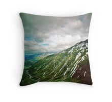 Ice cave 19 Throw Pillow