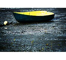 Beached Dinghy Photographic Print