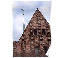 Medieval castle. Poster