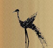Long-legged Bird by mindprintz