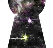 Key to the universe Sticker