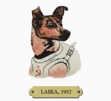 Laika: First animal in space orbit One Piece - Short Sleeve